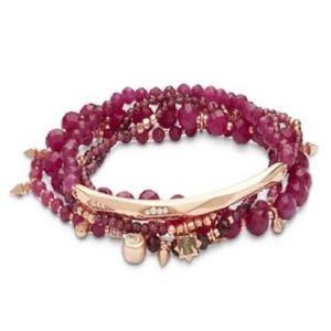 Kendra Scott Supak Gold Beaded Bracelet New